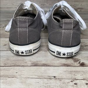 Converse Shoes - Converse Grey White One Star 7M